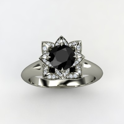 photo of Lotus Engagement Ring