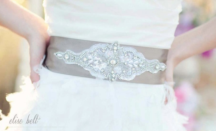 2012 wedding trends for summer embellished belts