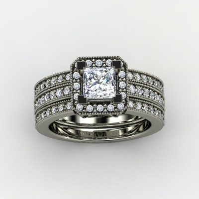 Va Voom Engagement Ring