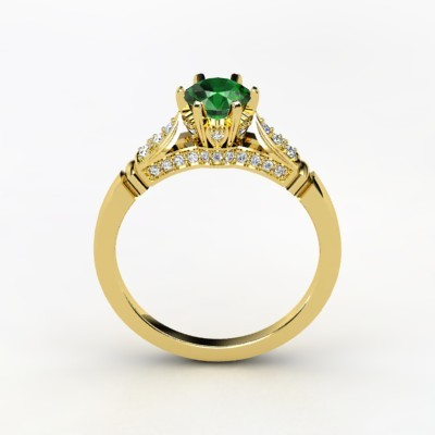 photo of Elizabeth Engagement Ring