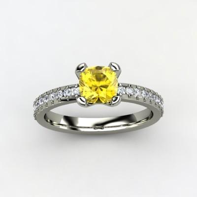 photo of Eliza Engagement Ring