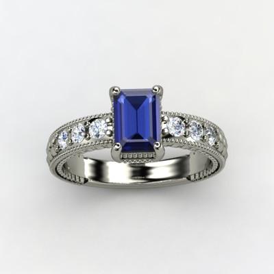 photo of Emerald Isle Engagement Ring
