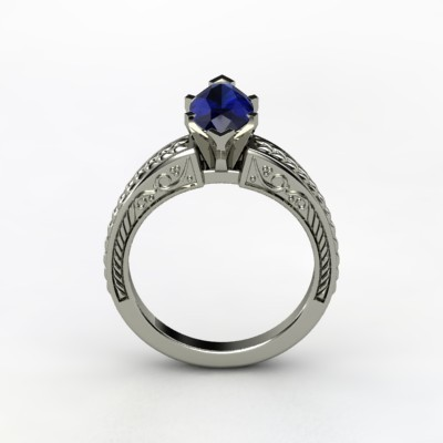 photo of Marquise Ceres Engagement Ring