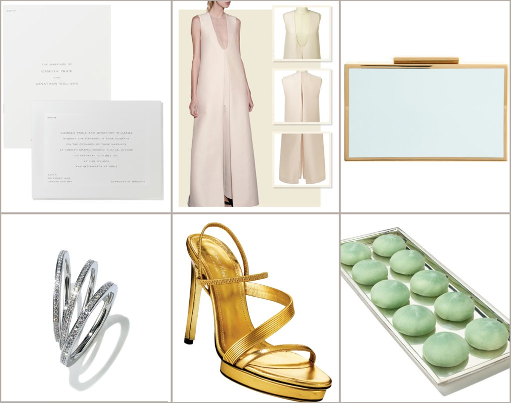 wedding style guide from vogue modern weddings