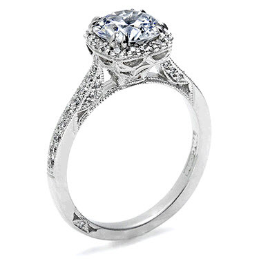 Cushion-cut-diamond-engagement-ring-round-pave-tacori-2.full