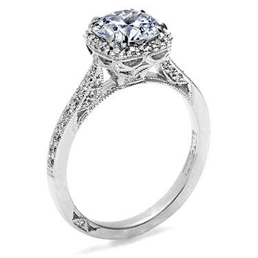Cushion Cut Engagement Rings Tacori PlwP91Ui | Wedding Ring