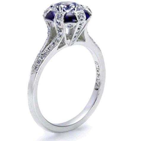 photo of Tacori Sapphire and Diamond Engagement Ring