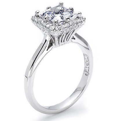 Tacori Pave Engagement Ring 2502PR