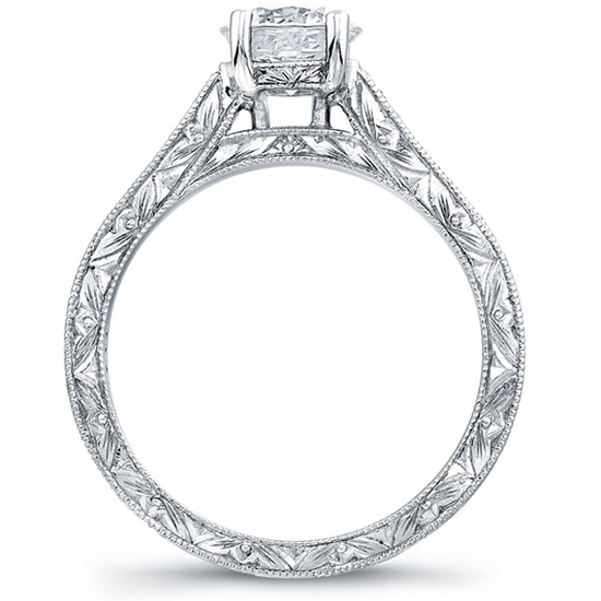 Martin Flyer Engagement Ring 5137ESOL