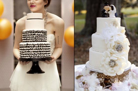 the wedding report stylish wedding ideas couture wedding cakes 3