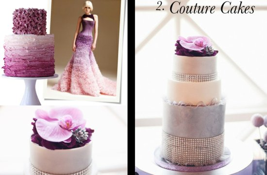the wedding report stylish wedding ideas couture wedding cakes