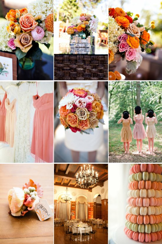 Wedding Color Inspiration Dusty Rose