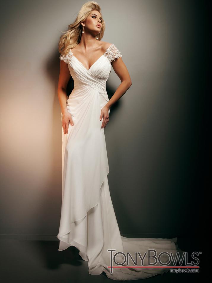 Tony Bowls Wedding Dresses - Cheap Wedding Dresses