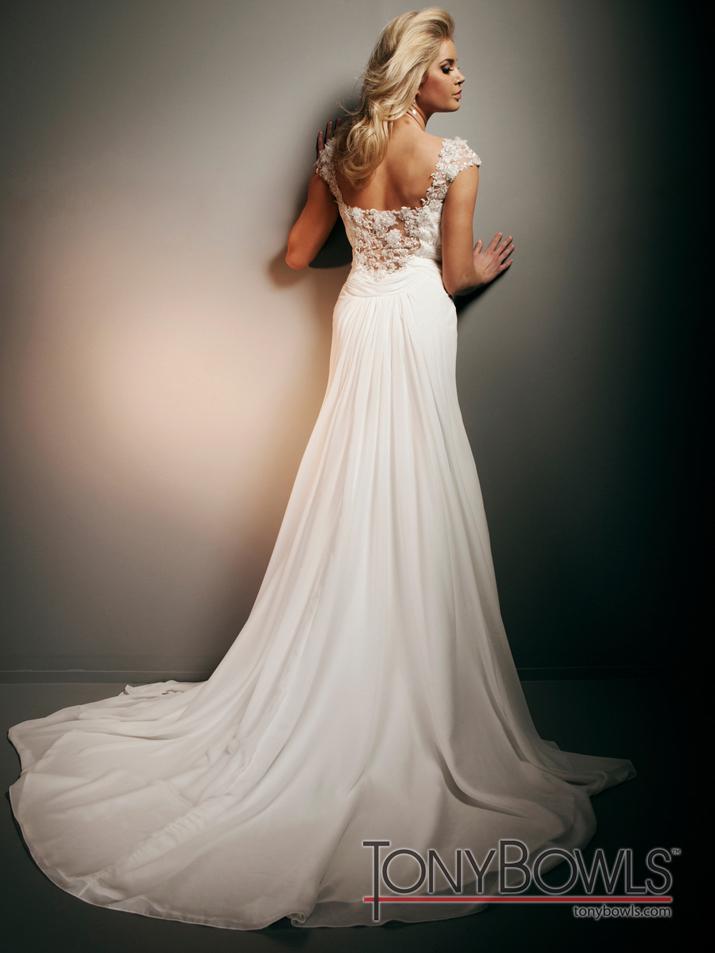Wedding Dress Fall 2012 Tony Bowls For Mon Cheri Bridal Gowns T212267