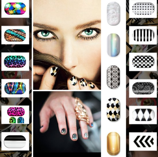 high fashion nail art for the non DIY bride 3