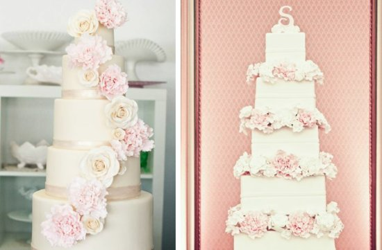 romantic floral wedding cakes 18