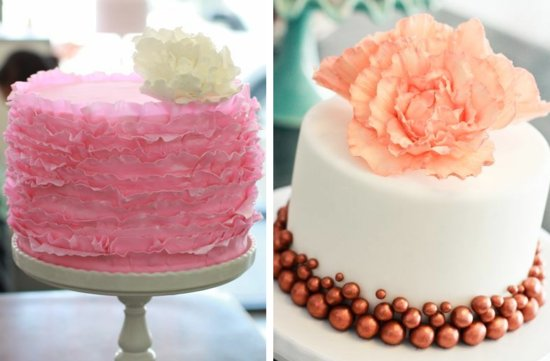 romantic floral wedding cakes 17