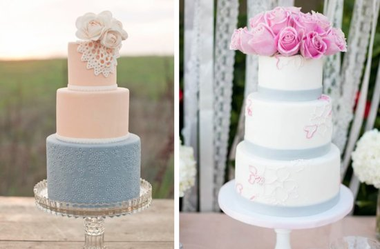 romantic floral wedding cakes 16