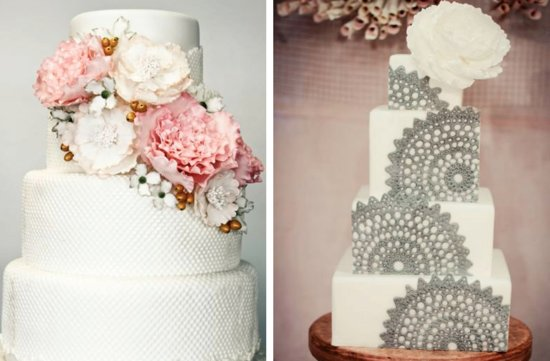 romantic floral wedding cakes 6