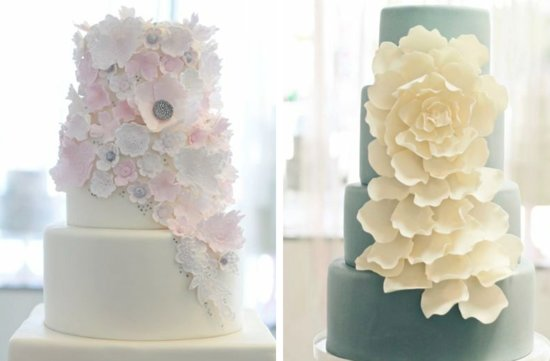 romantic floral wedding cakes 7