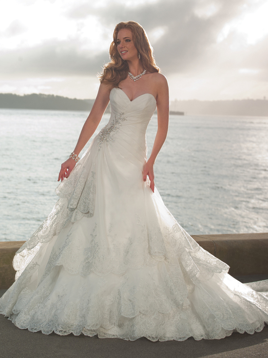 wedding dress fall 2012 sophia tolli for mon cheri bridal gown Y21264 mallory