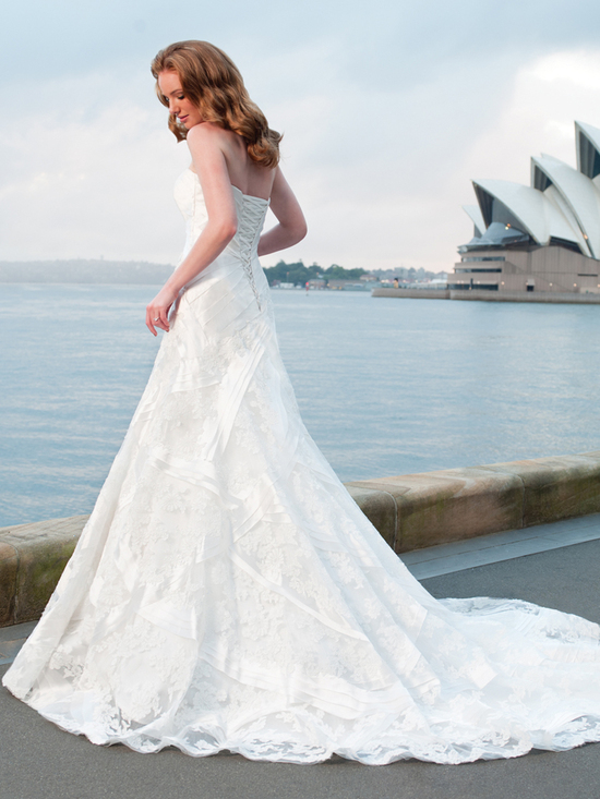 wedding dress fall 2012 sophia tolli for mon cheri bridal gown Y21253 nautica