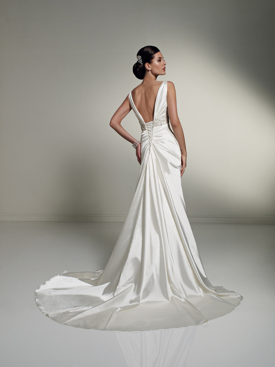 wedding dress fall 2012 sophia tolli for mon cheri bridal gown Y21249 tiffany