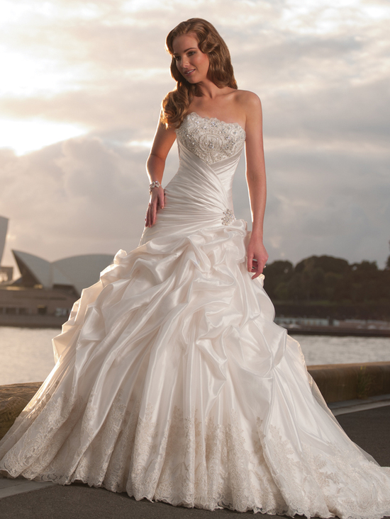 wedding dress fall 2012 sophia tolli for mon cheri bridal gown Y21247 alicia