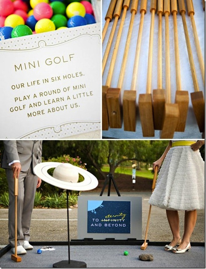 Lawn games for summer weddings