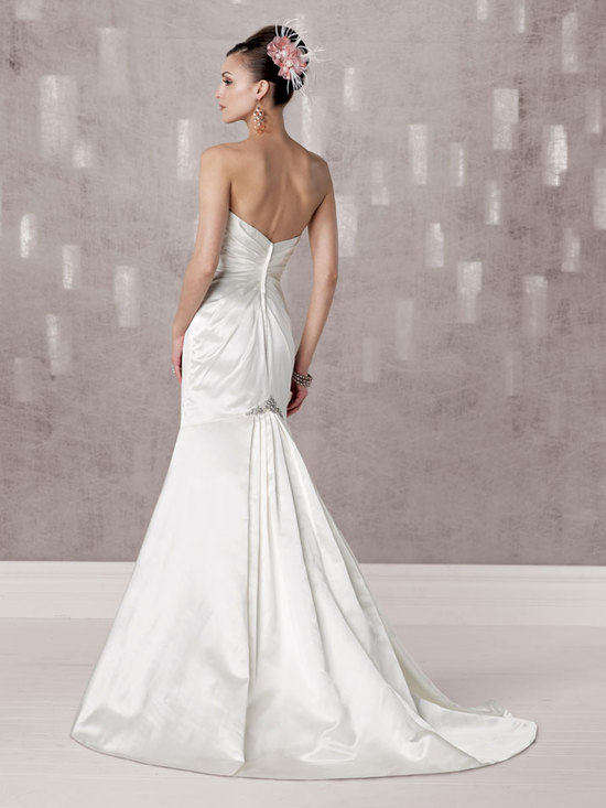 bridal gown fall 2012 kathy ireland for mon cheri wedding dress 231249