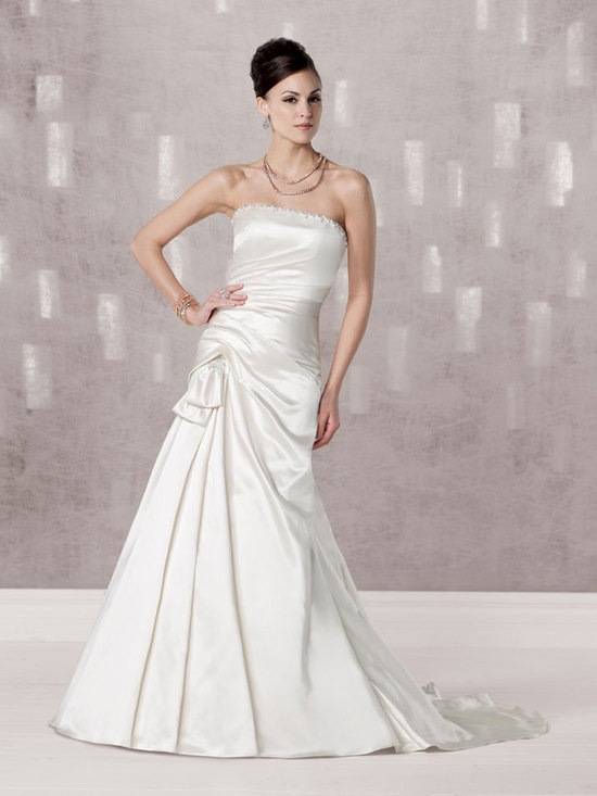 bridal gown fall 2012 kathy ireland for mon cheri wedding dress 231247
