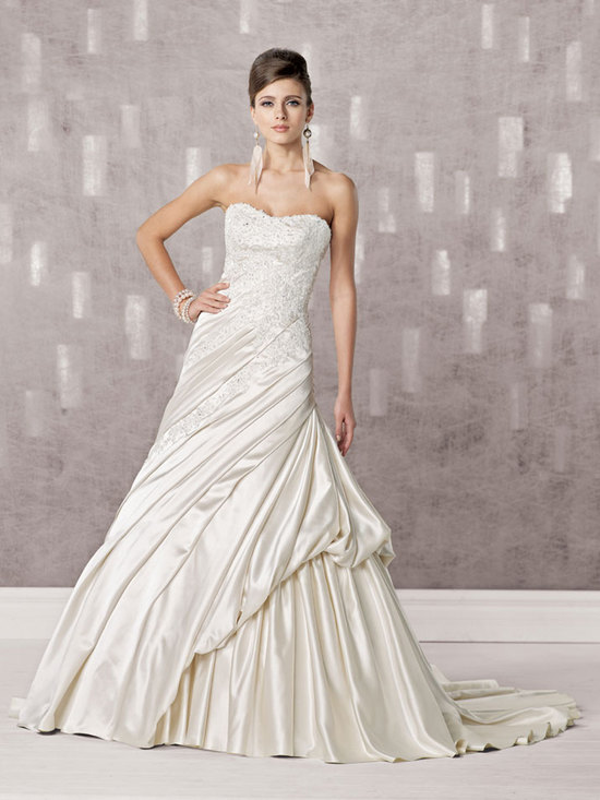 bridal gown fall 2012 kathy ireland for mon cheri wedding dress 231244