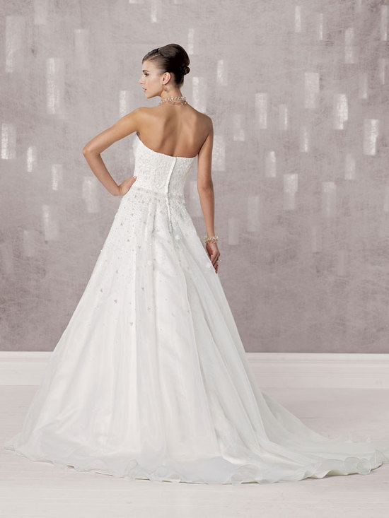 bridal gown fall 2012 kathy ireland for mon cheri wedding dress 231242