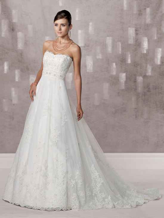 bridal gown fall 2012 kathy ireland for mon cheri wedding dress 231239