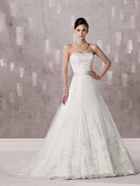 bridal gown fall 2012 kathy ireland for mon cheri wedding dress 231238