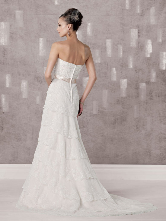 bridal gown fall 2012 kathy ireland for mon cheri wedding dress 231236