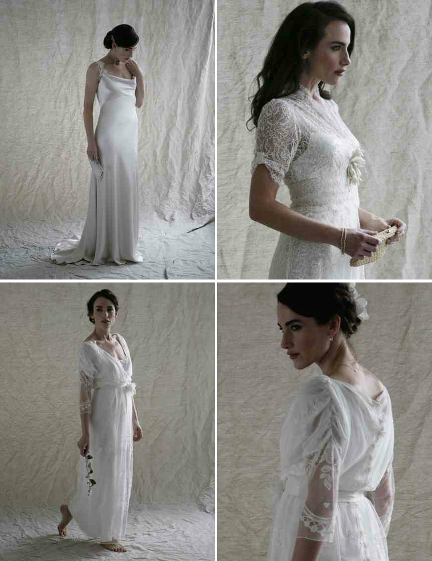 downton abbey inspired wedding dresses from london 2