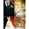 Elegant-real-wedding-with-simple-details-topiary-centerpieces-blue-ivory-green-bouquet.square