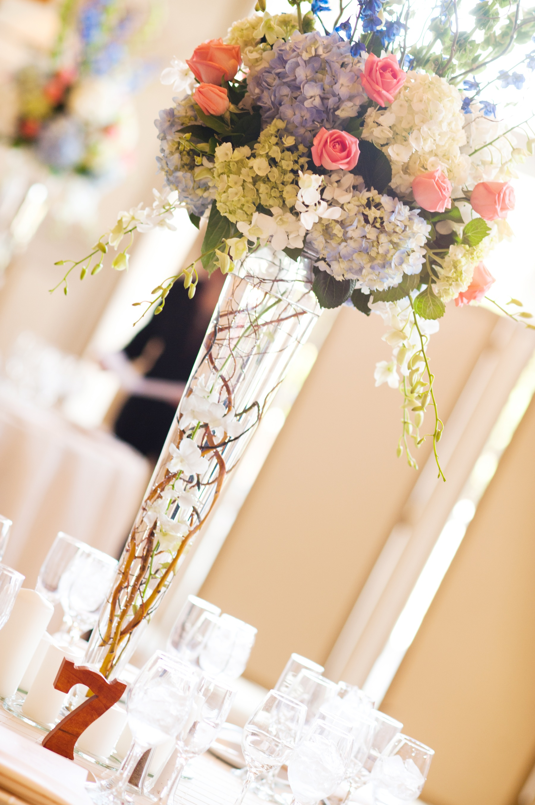 Memorable wedding sustainable centerpieces