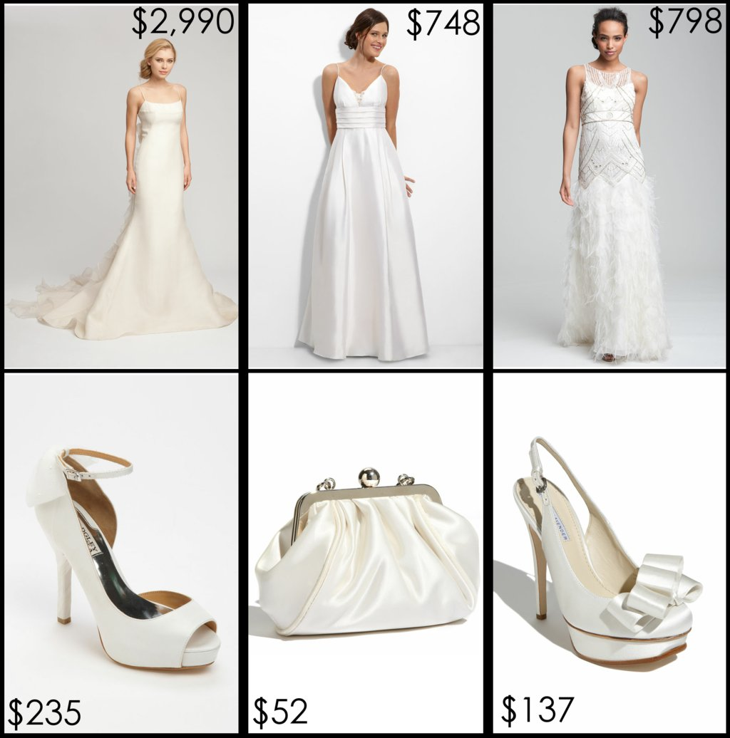 Nordstrom-wedding-suite-bridal-gowns-shoes-clutch.full