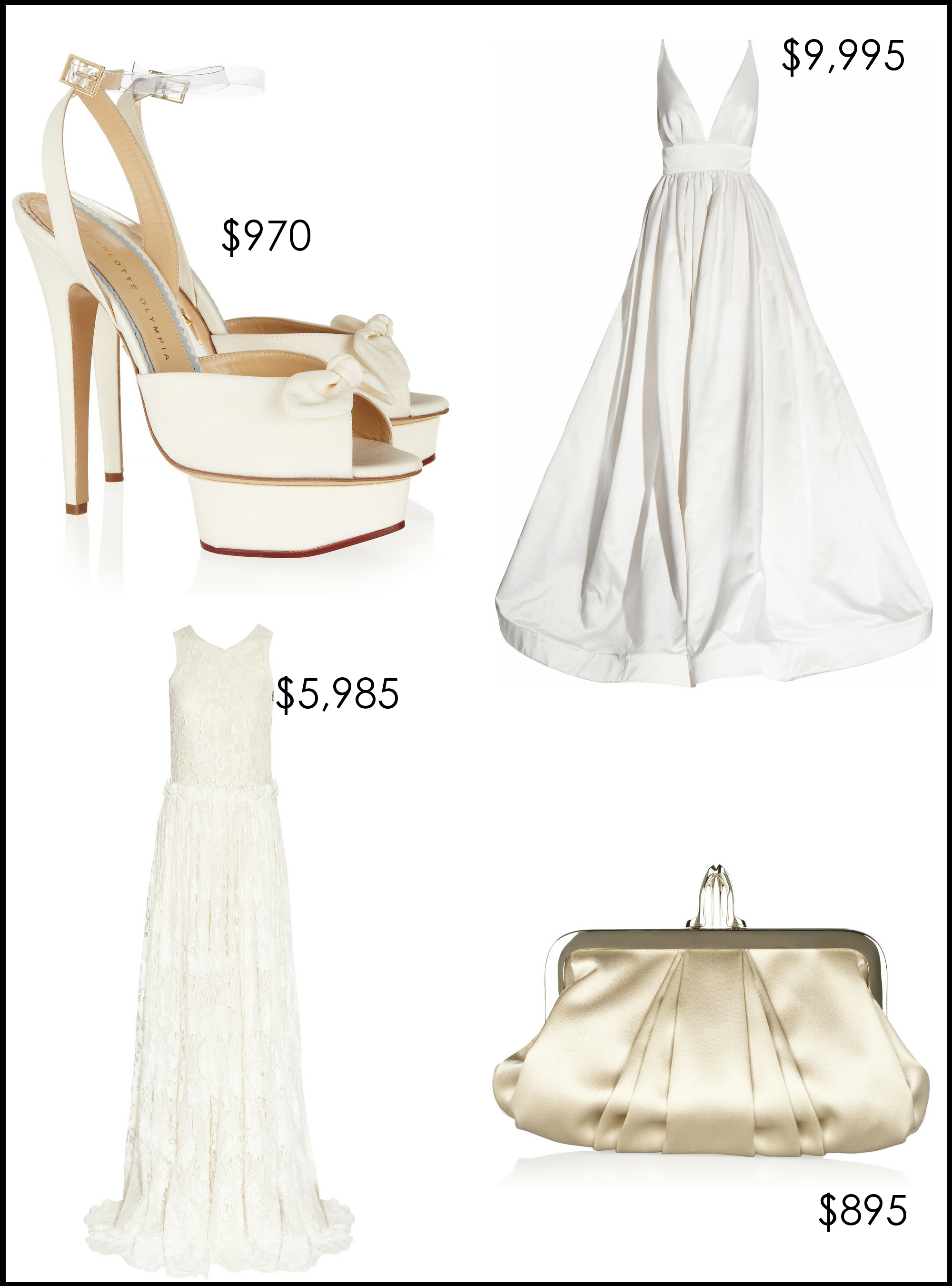 Designer-wedding-dress-bridal-heels-clutch-net-a-porter.original