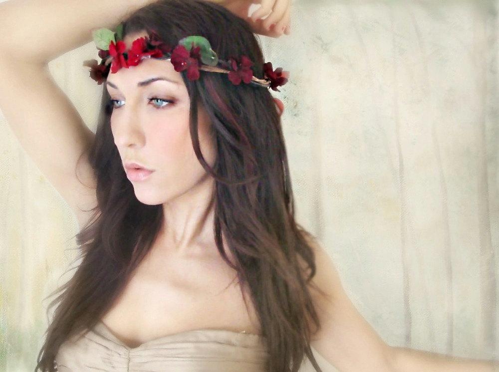 Bohemian-bride-deep-red-floral-crown.full