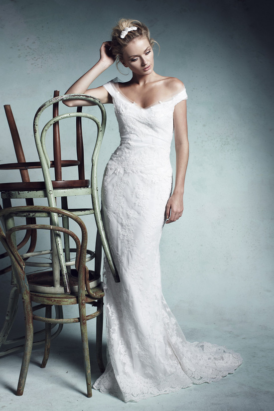 wedding dress by Collette Dinnigan 2013 bridal gowns 4
