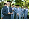 Elegant-california-wedding-with-bold-florals-personalized-details-groom-with-groomsmen.square