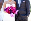 Elegant-california-wedding-with-bold-florals-personalized-details-bride-groom-with-bouquet.square