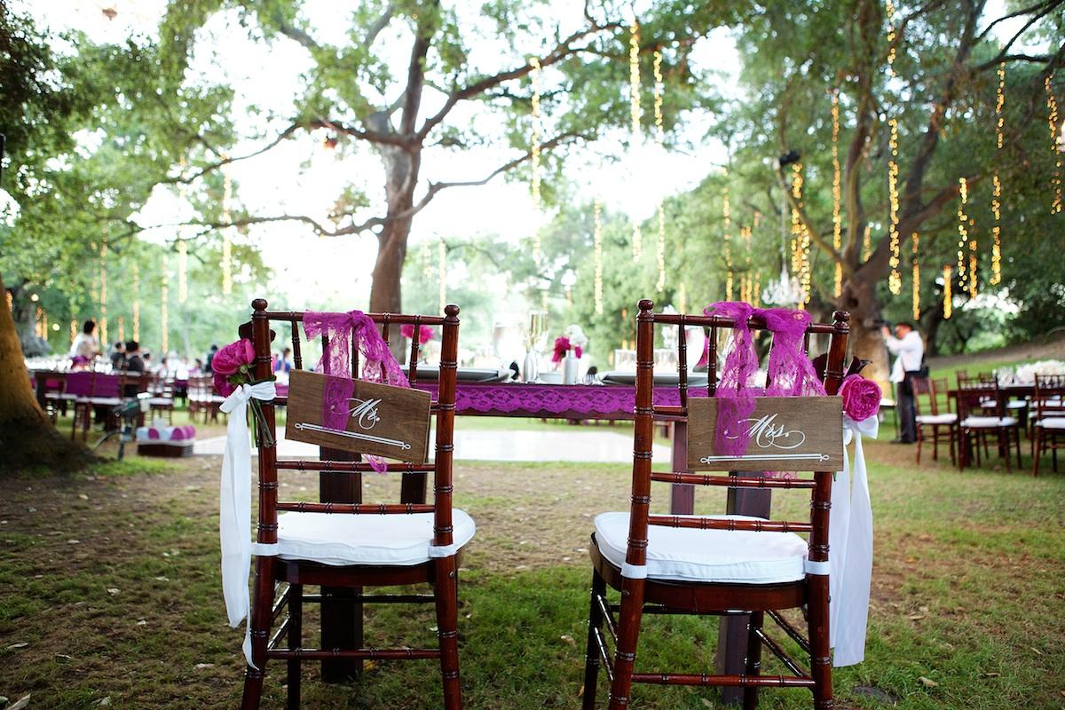 Desain Pernikahan Simple Wedding Reception Decorations Outdoor