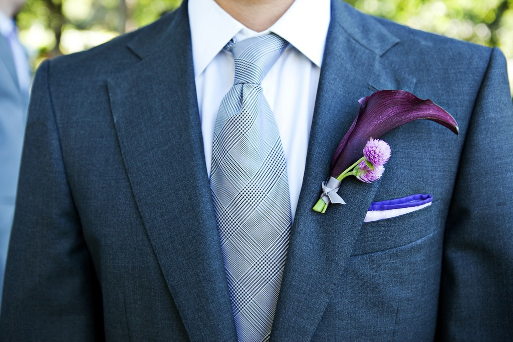 elegant grooms attire for outdoor Malibu wedding gray suit ...