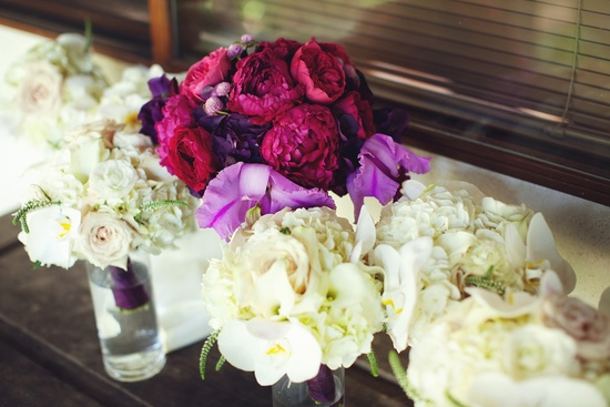 elegant malibu wedding with bold wedding flowers bridal bouquet bouquets
