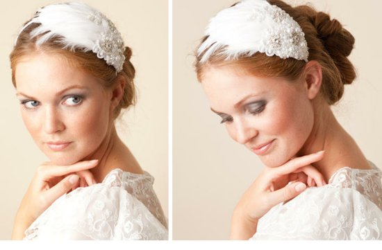jannie baltzer wedding hair accessories and bridal veils 10