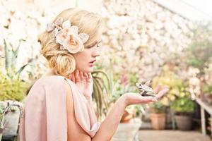photo of Summer wedding hair accessories- 3